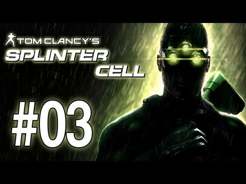 Let's Play Splinter Cell Walkthrough - Part 3: Defense Ministry (Gameplay/Playthrough) [HD]
