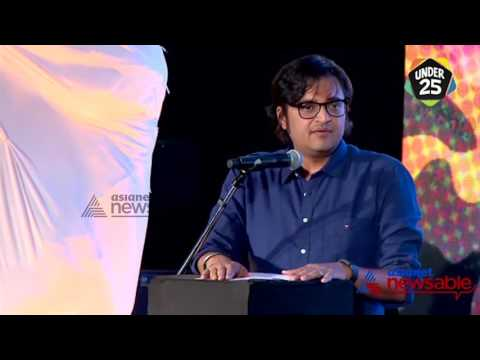 Arnab Goswami talks about Republic Channel at the Under 25 Summit. Exclusive Video!!!