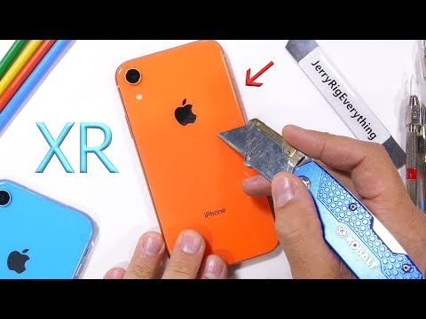 iPhone XR Durability Test - is the 'cheap' iPhone weak?
