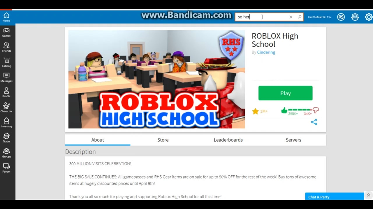 How To Get Into A Fan Club On Roblox High School Youtube