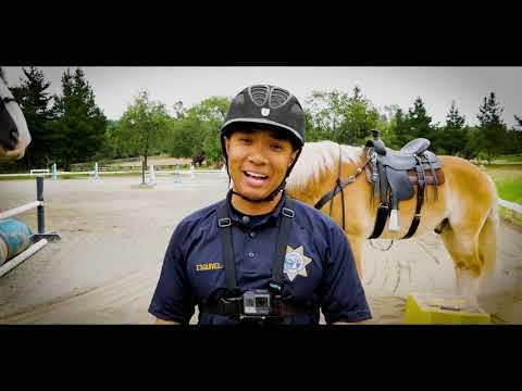 CHP Vlog Ep. 1 - Mounted Patrol Unit
