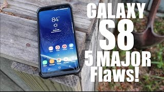 5 BIGGEST Problems and Bugs With The Galaxy S8 After 2 Weeks