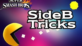 [ssb4] Pac-man - Sideb Tricks  (smash Wii U/3ds)