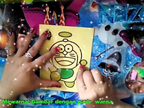 Play Doh Pembuatan Pasir Kinetik Nanas Belajar Warna
