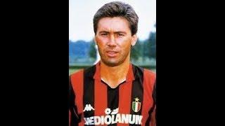 Carlo Ancelotti all 11 goals for Milan