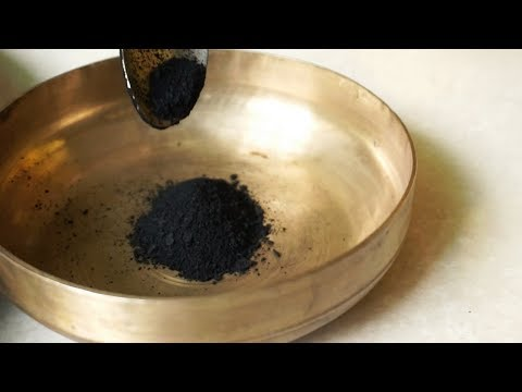 The Art Of Making Kajal | The Traditional Indian Way | Blackest Black