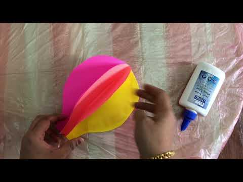 Paper crafts / Easy kids craft ideas with paper / paper parachute  / Hot air baloon