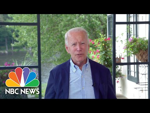 Biden Criticizes Trump's Handling Of Coronavirus And Russia: 'It's All About Him' | NBC News NOW