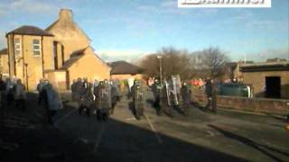 Emergency Services Riot Training In Huddersfield
