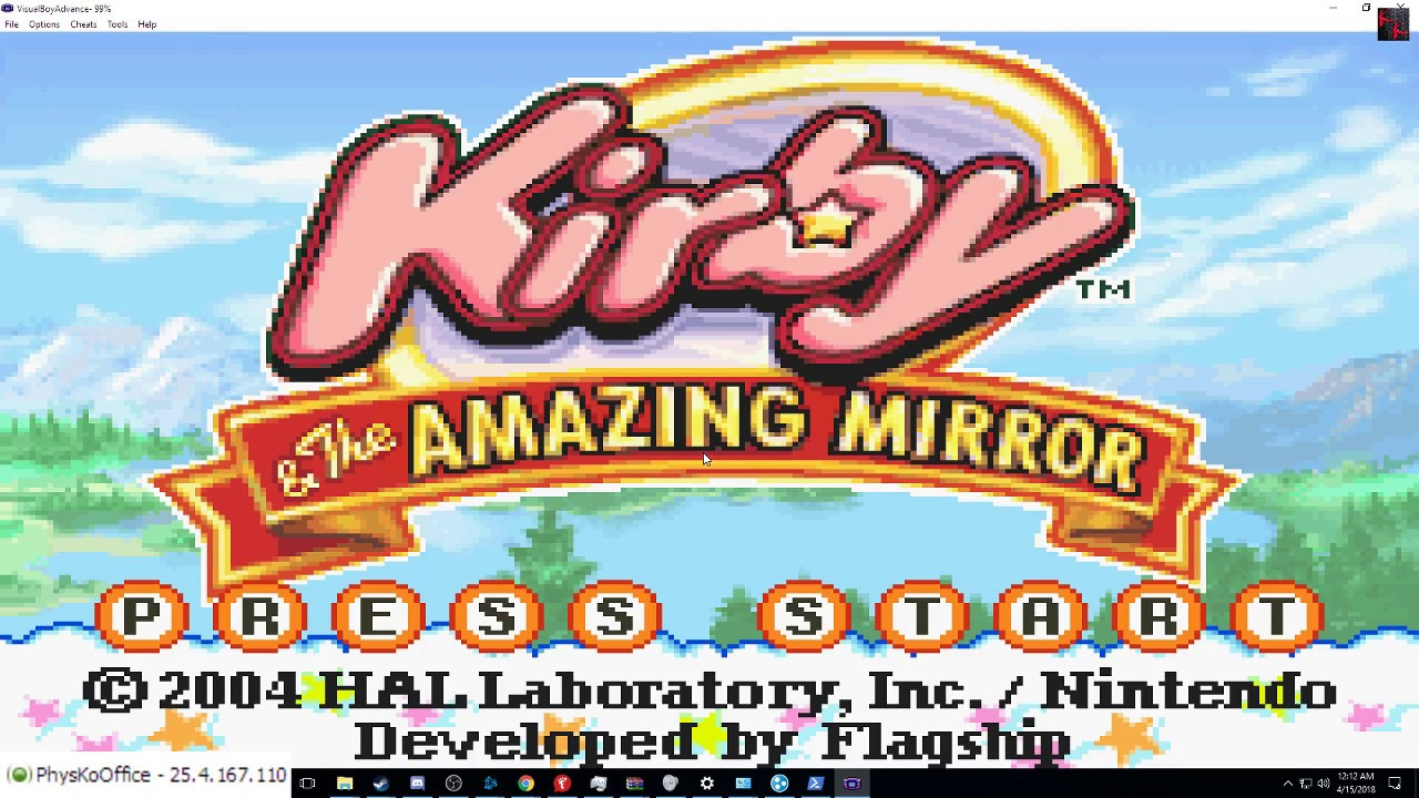 kirby and the amazing mirror emulator multiplayer