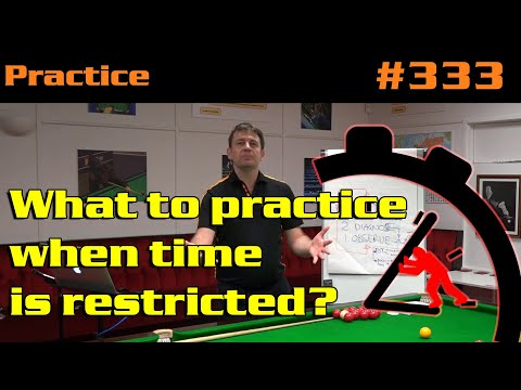 What To Practice When Time Is Restricted?