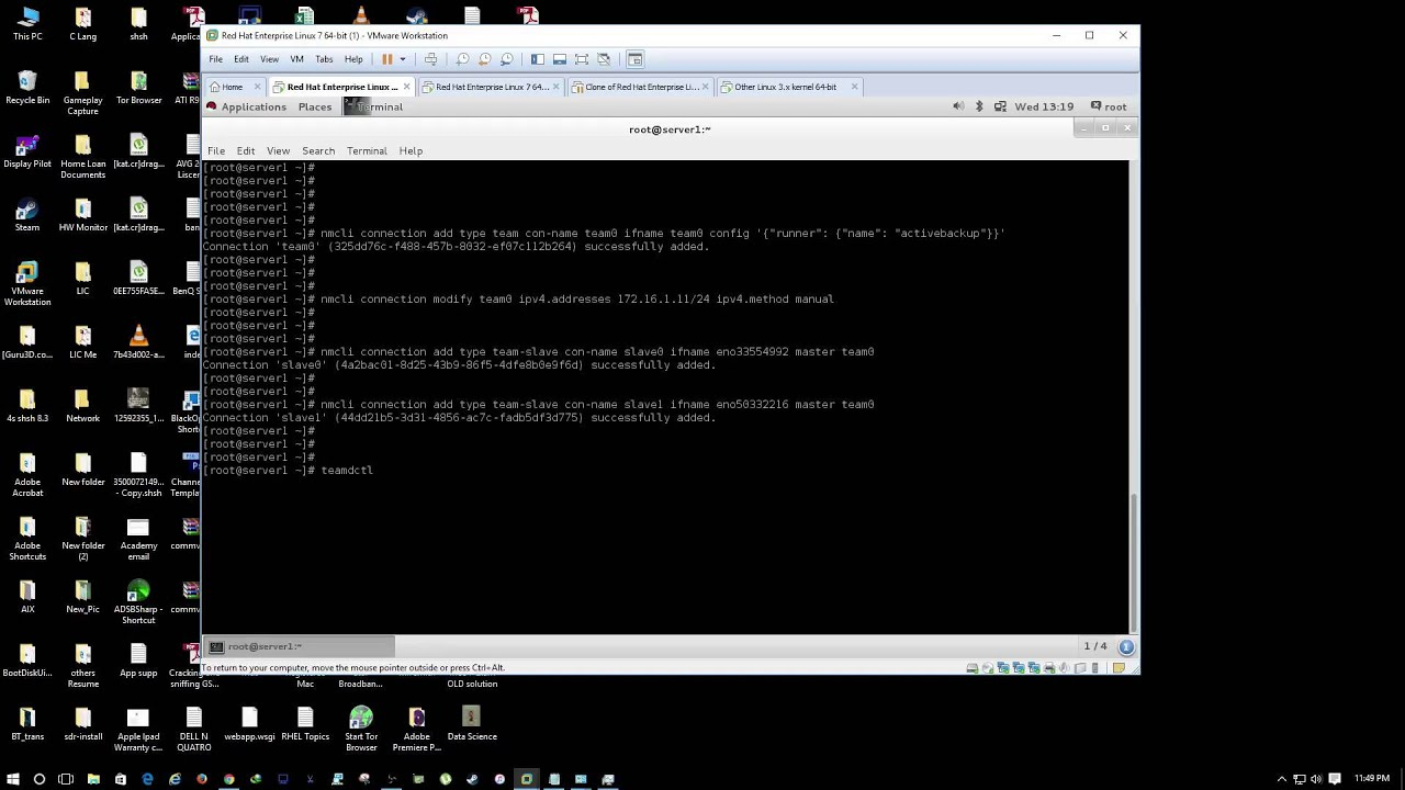 Image result for How to Setup and Configure Network Bonding in RHEL/CentOS 7