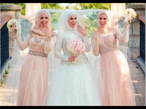 Wedding Dress Muslimah Modern