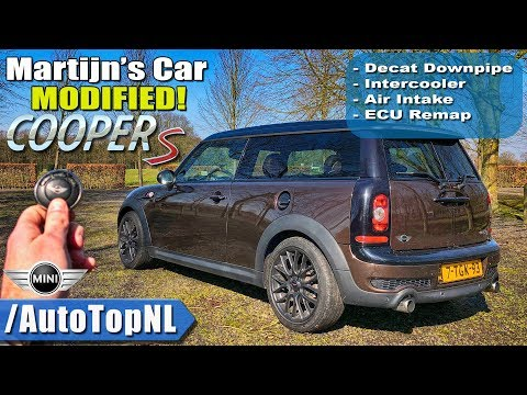 230hp Mini Clubman Cooper S R55 Review Pov Test Drive By Autotopnl