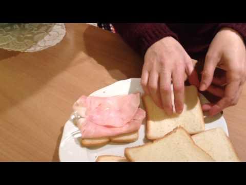 TRUCCHI IN CUCINA - Tutorial per Toast