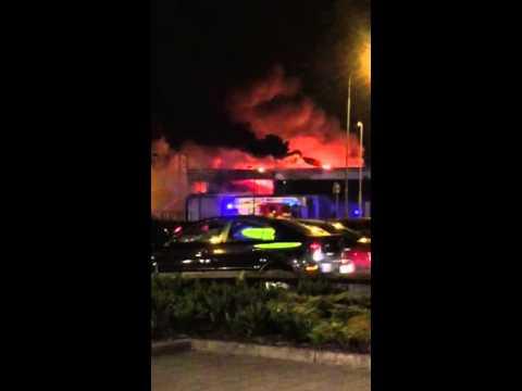 Dawn Tissue Factory Fire Drogheda 12-09-15
