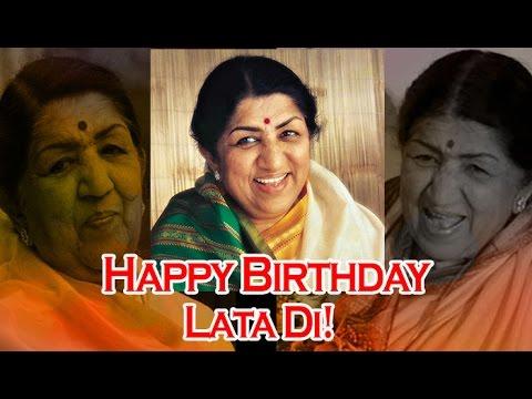 Lata Mangeshkar Birthday: The legendary singer lists her favourite songs