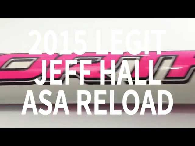 2015 Worth Legit ASA Jeff Hall Reload Slowpitch Softball Bat SBL5AJ