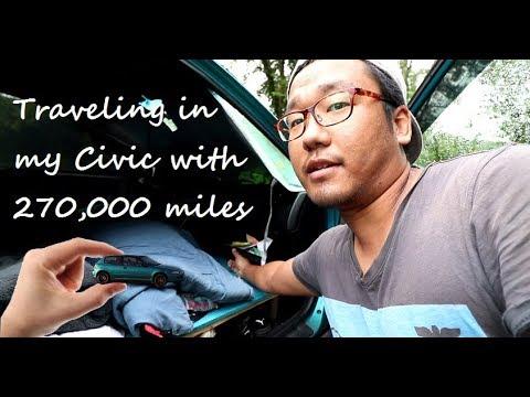 "Living in my SMALL 92 Honda EG Civic ""Tour"""