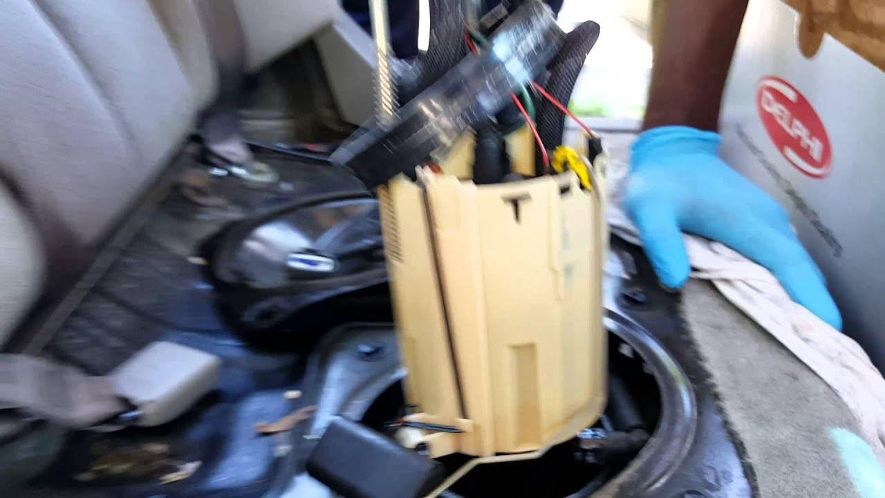 2001 nissan altima fuel filter replacing 'fuel pump' on 2002 nissan altima - youtube