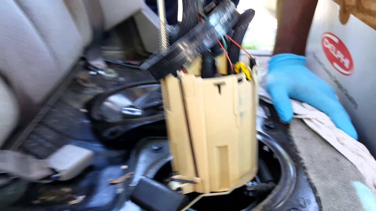 replacing fuel pump on 2002 nissan altima [ 1280 x 720 Pixel ]