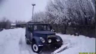 ГАЗ - 69 с лопатой отвалом