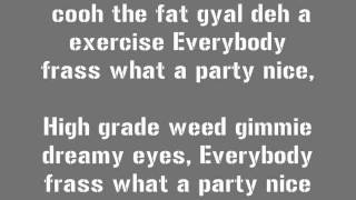 VYBZ KARTEL - Party Me say  LYRICS (Follow @DancehallLyrics )