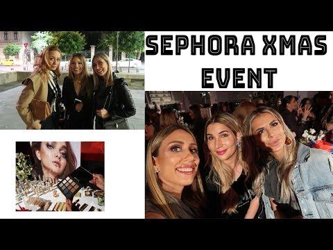 Sephora Xmas event