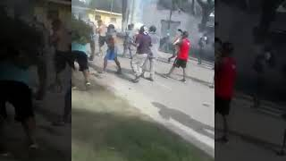 Video: Graves incidentes en Hipólito Yrigoyen