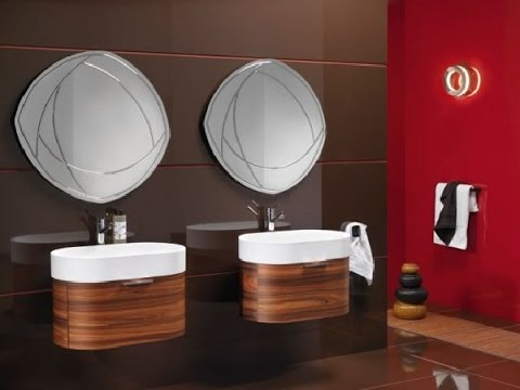 unique bathroom vanities for small spaces - youtube