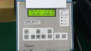 Megger Torkel 860 Repaired by Dynamics Circuit (S) Pte. Ltd.