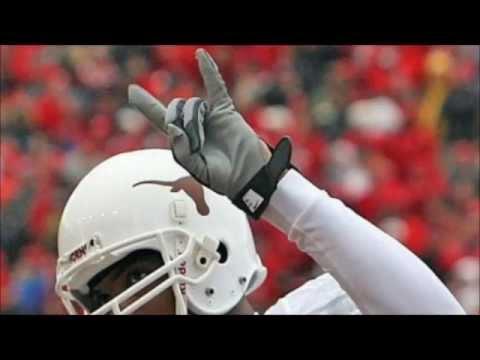 Texas Longhorns football fight song - Texas Fight - Hook Em Horns - Burnt Orange Nation