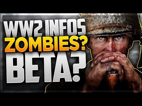 PAS DE ZOMBIES POUR WWII ? MAIS UNE BETA ! (INFO COD WORLD WAR II)