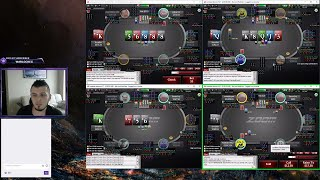 1nvoker Poker stream  zoom 500  6 max Pokerstars .