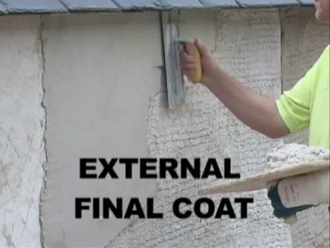 How To Apply Lime Render Lime Plaster Lath Amp Plaster