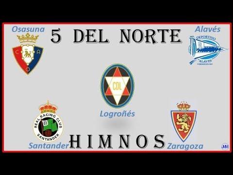 Himnos Equipos De Fútbol 3 - Alavés-Logroñés-Osasuna-Santander-Zaragoza