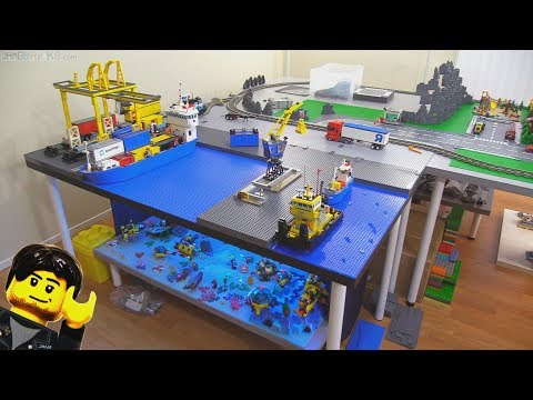 New Jang City LEGO layout expansion update Jan. 12, 2018