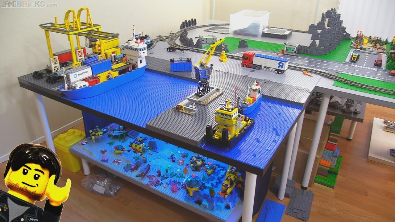 New Jang City LEGO layout expansion update Jan. 12, 2018 ...