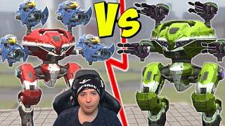 HUSSAR VS PULSAR Mk2 Leech Compare War Robots Gameplay WR