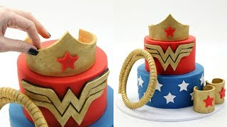WONDER WOMAN Cake! thumbnail