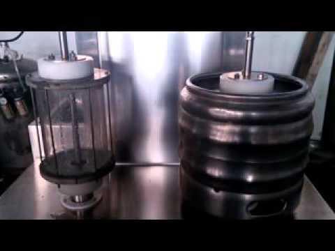 BID ON EQUIPMENT: Item 245095 - Beer Barrel Washing Machine