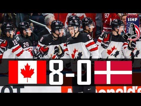 Canada vs Denmark   2018 WJC Highlights   Dec. 30, 2017