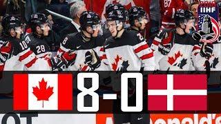 Canada vs Denmark | 2018 WJC Highlights | Dec. 30, 2017