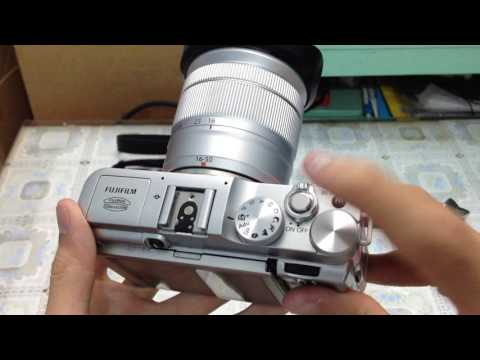 Trên tay Fujifilm X-A2 màu hồng - Thiết kế classic, màn hình lật 175 độ, kèm ống kính 16-50mm