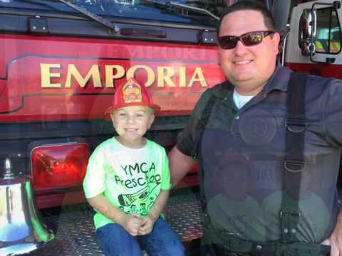 Emporia-Greensville YMCA Preschoolers Learn about Fire Safety