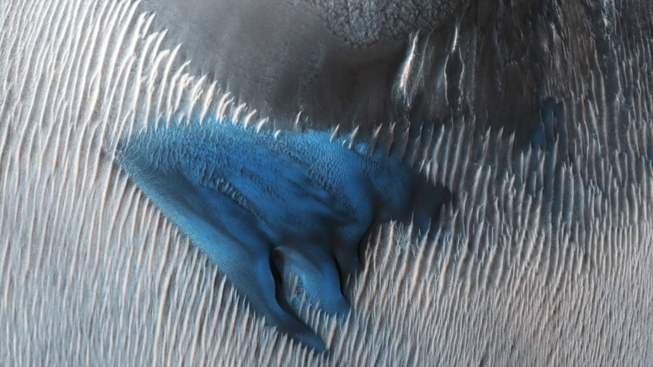 Mars: Once in a Blue Dune