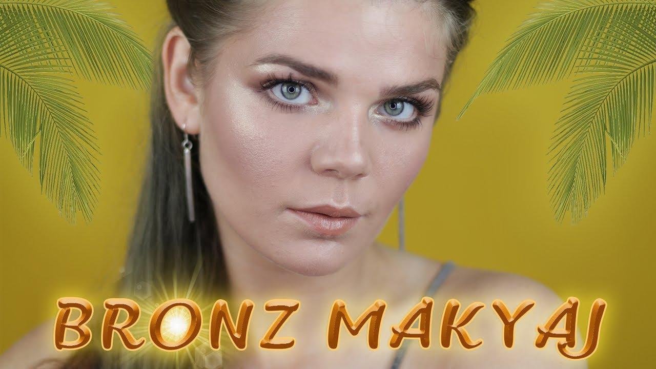 Bronz Cilde Nasıl Makyaj Yapılır