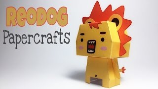 REODOG PAPER CRAFTS TUTORIAL