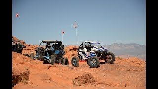 "Can-am Maverick Sport RC, Polaris RS-1, Maverick X3 and ""Crowley Edition takes on Sand Hollow"