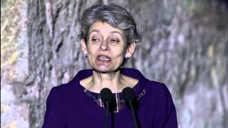 INTERNATIONAL JAZZ DAY  - UNESCO DIRECTOR-GENERAL IRINA BOKOVA